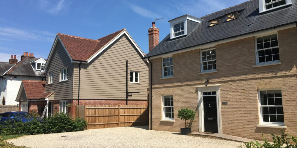 4 New Build Houses, Hertford